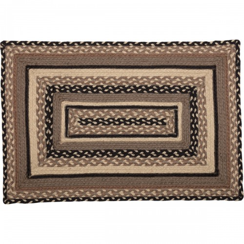 Sawyer Mill Charcoal Jute Rug Rect 20x30
