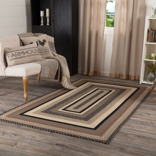 Sawyer Mill Charcoal Jute Rug Rect 60x96