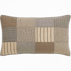 Sawyer Mill Charcoal King Pillow Sham 21x37