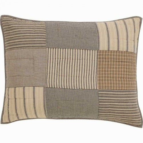 Sawyer Mill Charcoal Standard Pillow Sham 21x27