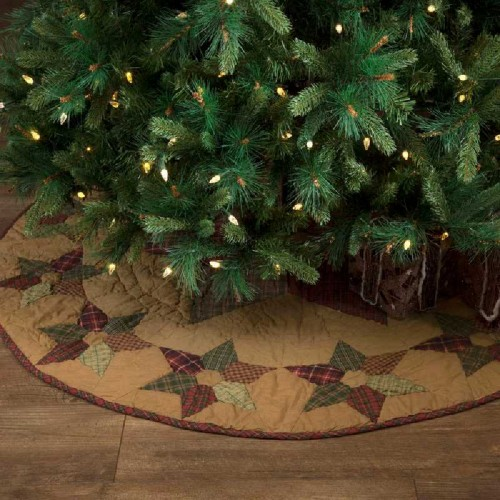 Tea Star Mini Tree Skirt 21""