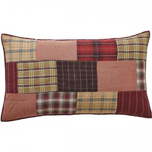 Wyatt King Rustic Pillow Sham