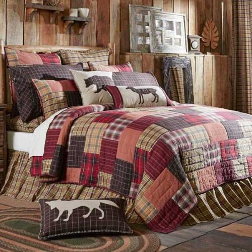 Wyatt Luxury King Rustic Quilt
