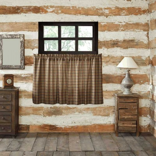 Wyatt Tier Curtains Set of 2 L36xW36