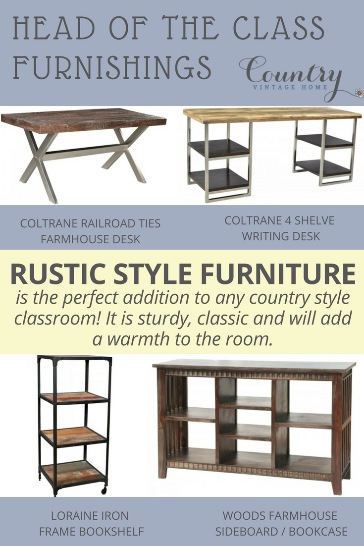 Essentials For A Country Style Classroom Country Vintage Home